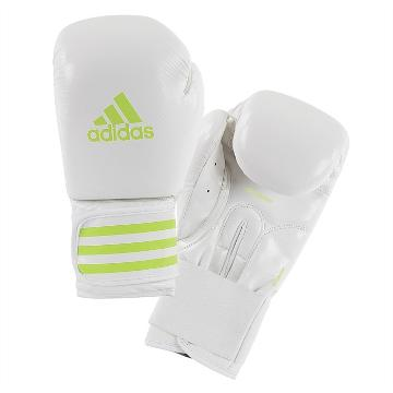 Adidas Fitness Power200 Boxing Gloves - White/Green