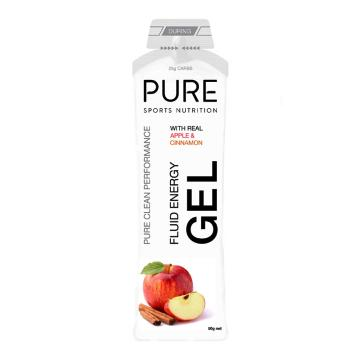 Pure Sports Nutrition Fluid Energy Gel - Apple & Cinnamon