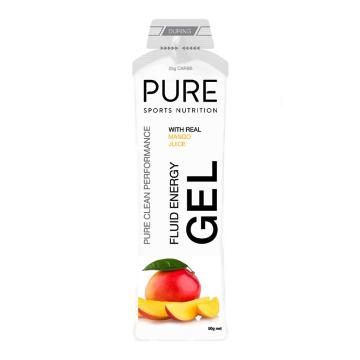 Pure Sports Nutrition Fluid Energy Gel - Mango