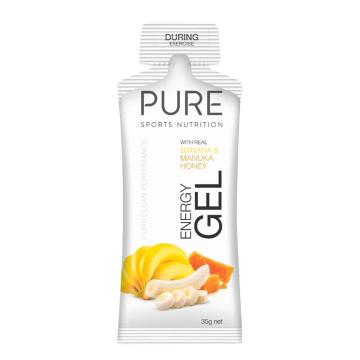Pure Sports Nutrition Gel - Banana & Manuka Honey