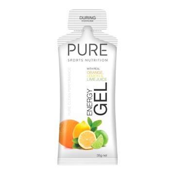 Pure Sports Nutrition Gel - Orange, Lemon & Lime