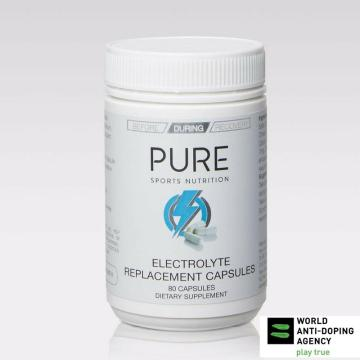 Pure Sports Nutrition Electrolyte Capsules 80