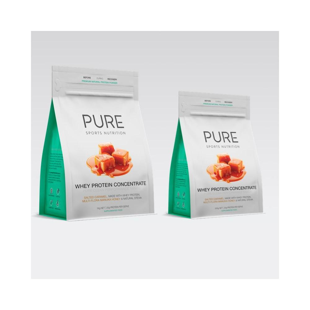 Whey Protein 1kg - Salted Caramel