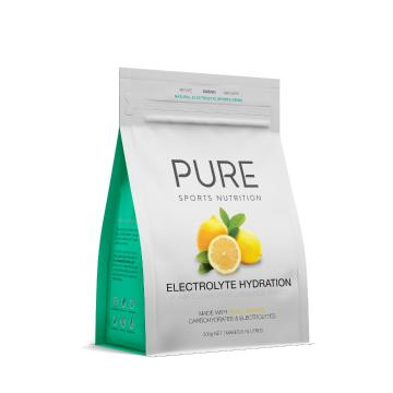 Pure Sports Nutrition Electrolyte Hydration 500g - Lemon