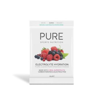 Pure Sports Nutrition Electrolye Hydration 42g Sachet - Superfruits