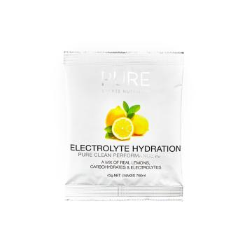 Pure Sports Nutrition Electrolye Hydration 42g Sachet - Lemon