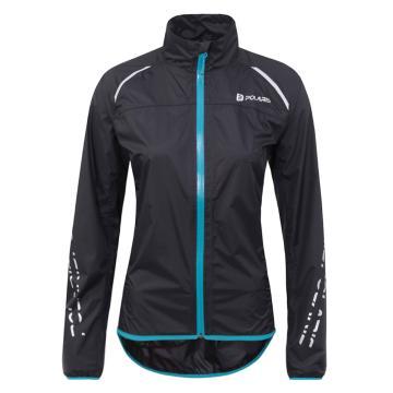 Polaris Bikewear Women's Strata Jacket - Black Aqua