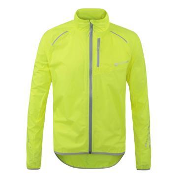 Polaris Bikewear Men's Strata Waterproof Jacket - Fluro Yellow/Grey