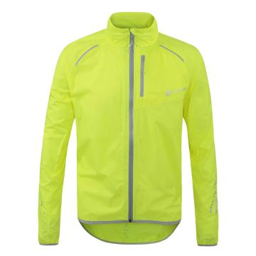 Polaris Bikewear Men's Strata Waterproof Jacket - Fluro Yellow/Grey
