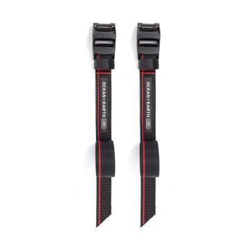 "Ocean and Earth Sup/Longboard Tie Down 14"""" - Black"