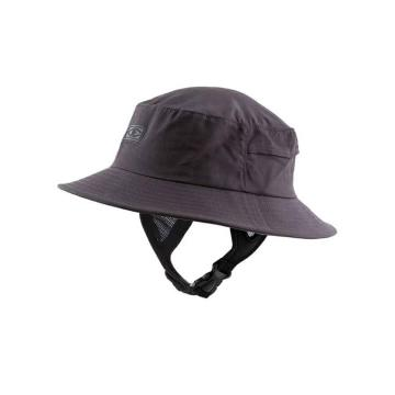 Ocean and Earth Kids Binging Soft Peak Surf Hat - Black