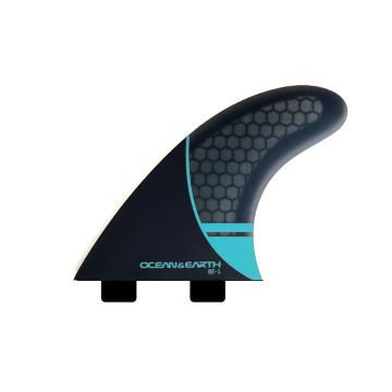 Ocean and Earth Whip Thruster Dual Tab - Blue