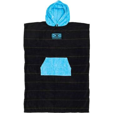 Ocean and Earth Daybreak Mens Hooded Poncho