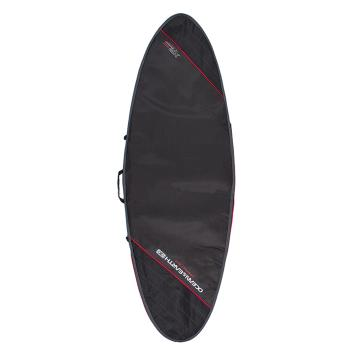 Ocean and Earth Compact Day 7'0 Fish Cover - Black/Red - Black/Red