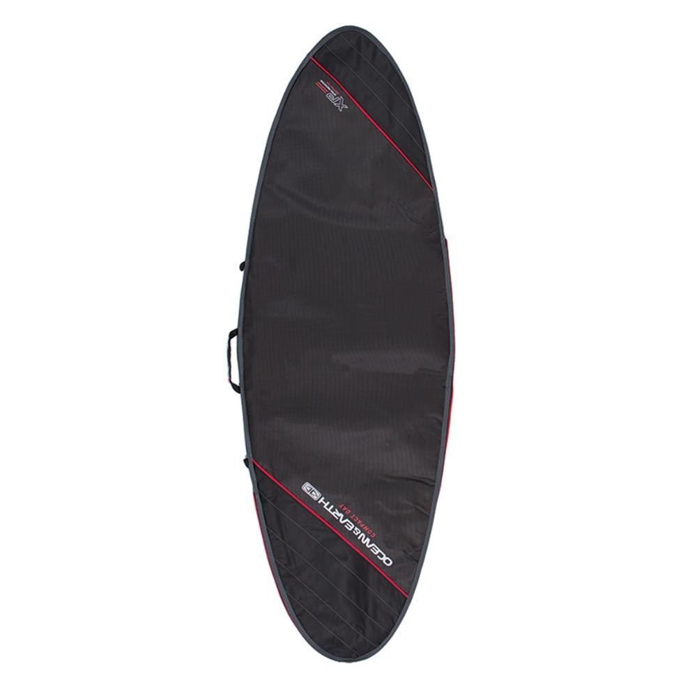Compact Day 7'0 Fish Cover - Black/Red