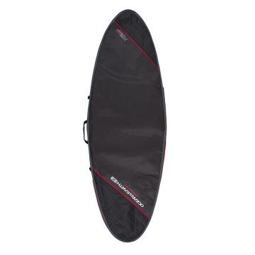 """Ocean and Earth Compact Day 7'8 Fish Cover - Black/Red 7'8"""""""