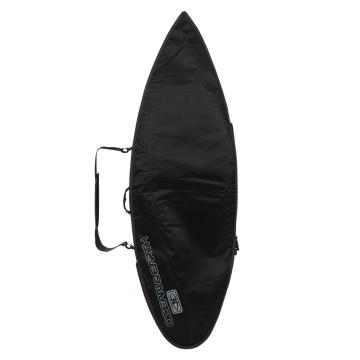 Ocean and Earth Compact Day Shortboard Cover - 6ft 8 - Black