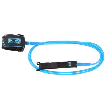 Ocean and Earth 8ft Regular Moulded Leash - Blue