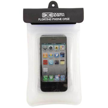 Ocean and Earth Floating Phone Case - Clear