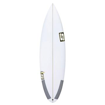 Simon Anderson Face Dancer XF FCSII White 6ft  Surfboard