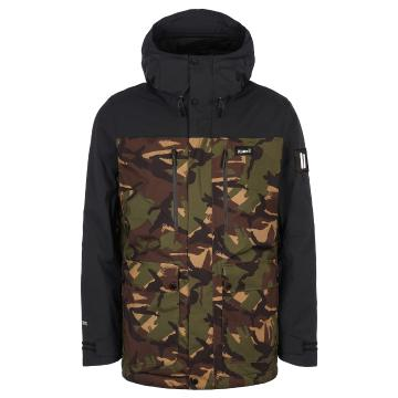 Planks 2021 Mens Good Times Insulated Jacket - British DPM Camo