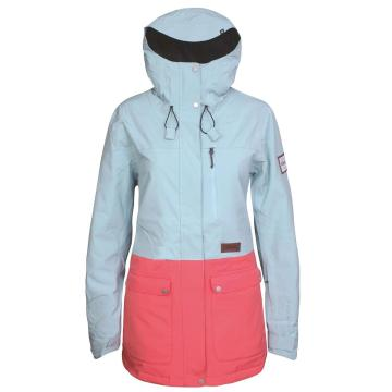 Planks   Women's Good Times Insulated Jacket - Glacier Blue