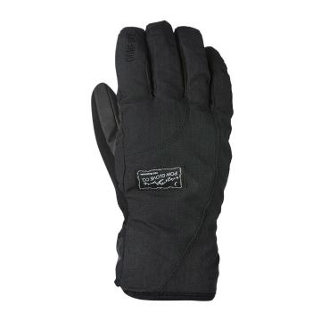 POW Women's Cresent Short Gore-Tex Gloves - Black