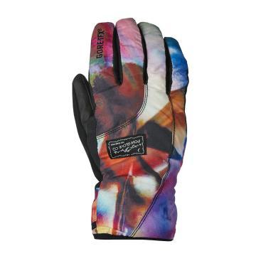 POW Women's Cresent Short Gore-Tex Gloves - Glass