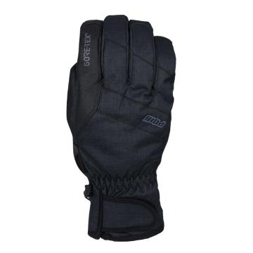 POW Men's Warner Gore-Tex Short Snow Gloves - Black