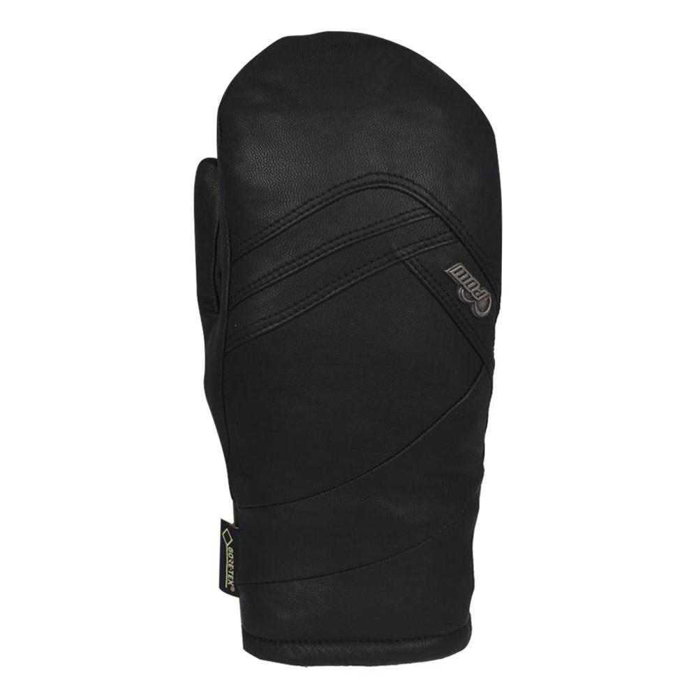 Women's Stealth Leather Snow Mittens
