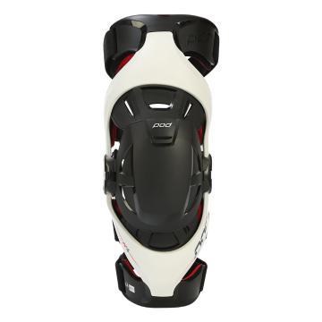 POD MX MX K4 Knee Brace - Left - Grey/Red