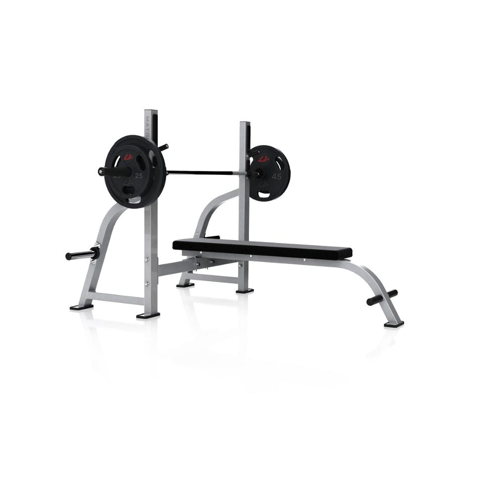 FW163 Olympic Commercial Flat Bench
