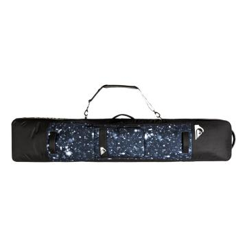 Quiksilver 2021 Men's Platted Travel Bag - True Black Woolflakes