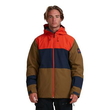 Quiksilver 2021 Men's Sycamore Jacket - Military Olive