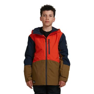 Quiksilver 2021 Youth Ambition Jacket - Pureed Pumpkin