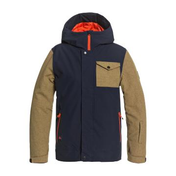 Quiksilver 2021 Youth Ridge Jacket - Navy Blazer