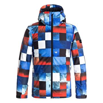 Quiksilver 2018 Youth Mission Printed Jacket - Blue
