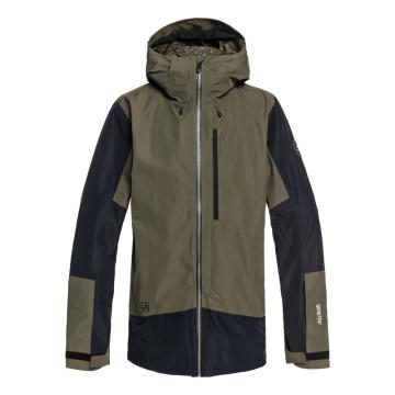 Quiksilver   Men's Forever 2L Gore Jacket - Grape Leaf