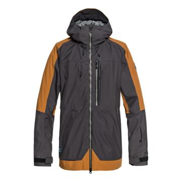 Quiksilver   Mens Travis Stretch Jacket - Golden Brown