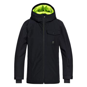 Quiksilver   Boys Mission Solid Youth Jacket - Black