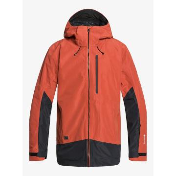 Quiksilver 2020 Men's Forever 2L Gore-Tex Jacket - Barn Red