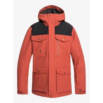 Quiksilver 2020 Men's Raft Jacket - Barn Red