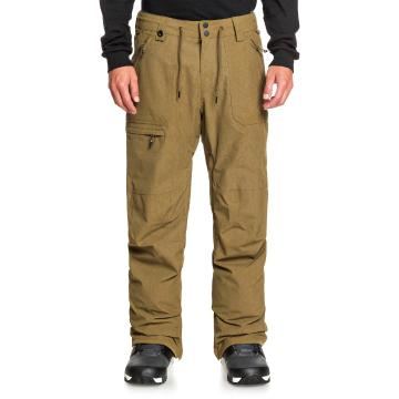 Quiksilver 2021 Men's Elmwood Pants - Military Olive