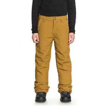 Quiksilver 2019 Boy's Estate Youth Pants - Golden Brown
