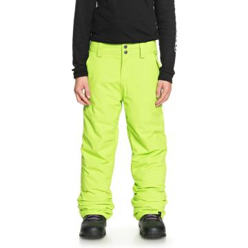 Quiksilver 2019 Boy's Estate Youth Pants - Lime Green