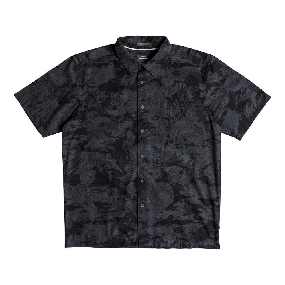 Mens Japanese Oceans Short Sleeve Shirt