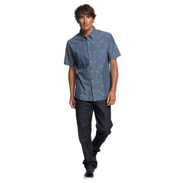 Quiksilver Mens Tribal Marking Short Sleeve Shirt