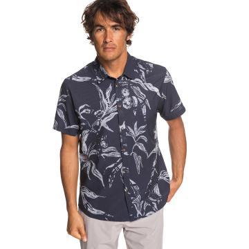 Quiksilver Mens Tech Beachrider SS Shirt