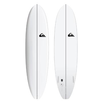 "Quiksilver 2020 Discuss 6'6"" Surfboard - White"