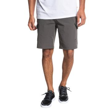Quiksilver Mens Explorer Amphibian Short - Dark Shadow